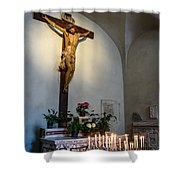 A Quiet Moment With God Shower Curtain