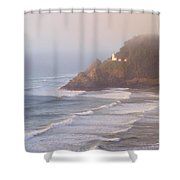 A Quiet Place Shower Curtain