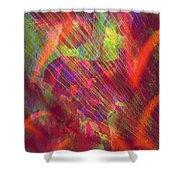A Radiant Renaissance  Shower Curtain