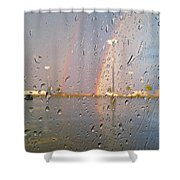 A Rainbow In My World #3 Shower Curtain
