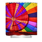 Temecula, Ca - A Rainbow Of Colors Shower Curtain