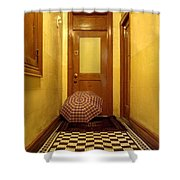 A Rainy Day In Astoria  Shower Curtain