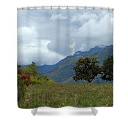 A Rainy Day In The Mountains Of Ecuador Shower Curtain