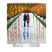A Rainy Dayii Shower Curtain