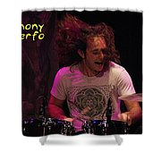 A Real Drummer Shower Curtain