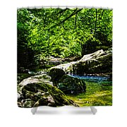 A Relaxing Place To Be Shower Curtain