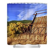 A Reminder Of The Past Shower Curtain