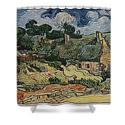 a replica of the landscape of Van Gogh Shower Curtain