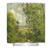 A Rest In The Meadow Shower Curtain