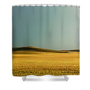 A Rise On The Plains Shower Curtain
