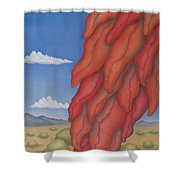 A Ristra On A Breeze Shower Curtain