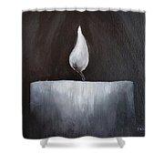 A Romantic Evening Shower Curtain