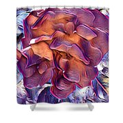A Rose Of Red Shower Curtain