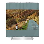 A Rural Vision From Wales Shower Curtain