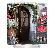 A Salzburg Christmas Shower Curtain