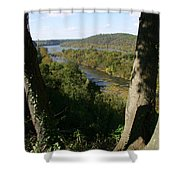 A Scenic View Of The Potomac River Shower Curtain