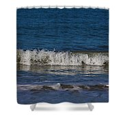A Sea Of Delight Shower Curtain