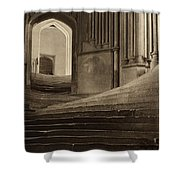 A Sea Of Steps Shower Curtain by Artistic Panda