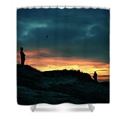 A Sense Of Loss Shower Curtain