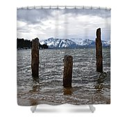 A Set Of 3 Shower Curtain