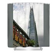 A Shard Day's Night Shower Curtain