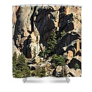 A Sheltered Place Shower Curtain