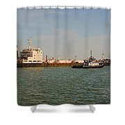 A Ships Guide Shower Curtain