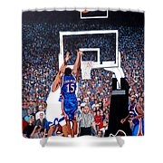 A Shot To Remember - 2008 National Champions Shower Curtain by Tom Roderick