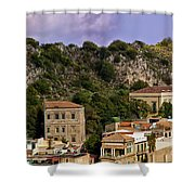 A Sicily View Shower Curtain