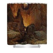 A Side Canyon, Grand Canyon Of Arizona Shower Curtain