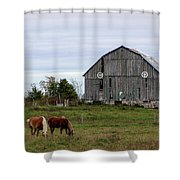 A Simple Story Shower Curtain