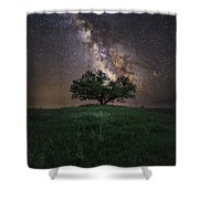 A Sky Full Of Stars Shower Curtain