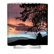 A Sky To Behold Shower Curtain