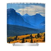 A Slice Of Autumn Shower Curtain