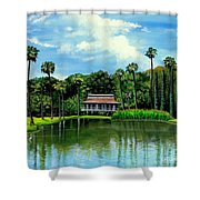 A Slice Of Paradise Shower Curtain