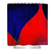 A Slice Of Summer Shower Curtain