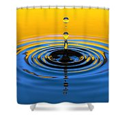 A Small Drop Of Hope Shower Curtain