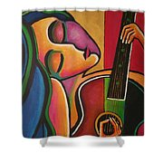 A Song For My Love Shower Curtain