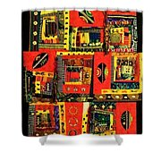 A Song For The Maasai Shower Curtain