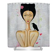 A Special Friend Shower Curtain