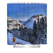 A Spectacular Drive Shower Curtain