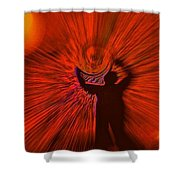 A Spiral Of Passion Shower Curtain