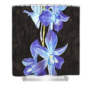 A Spray Of Orchids Shower Curtain