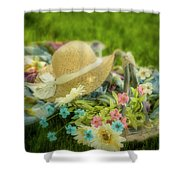 A Spring Afternoon Shower Curtain