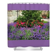 A Spring Bouquet From Mount Vernon, Baltimore Shower Curtain