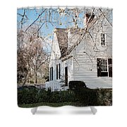A Spring Day In Colonial Williamsburg Shower Curtain