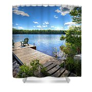 A Spring Day On West Lake Shower Curtain
