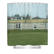 A Spring Recess Day Shower Curtain