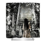 A Stairway To Heaven Shower Curtain