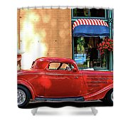 A Step Back In Time Shower Curtain